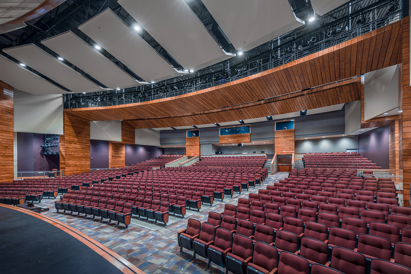 Designer Consignment Furniture And Interiors Shawnee Ks ~ Htk architects shawnee heights high school auditorium